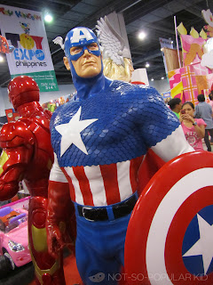 Captain America Toy Expo 2012