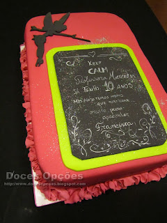 keep calm cake