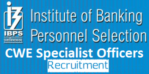 IBPS Notification For Specialist Officer IBPS Recruitment 2014