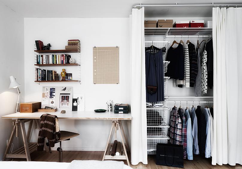 Decoração: Criando seu próprio guarda-roupa