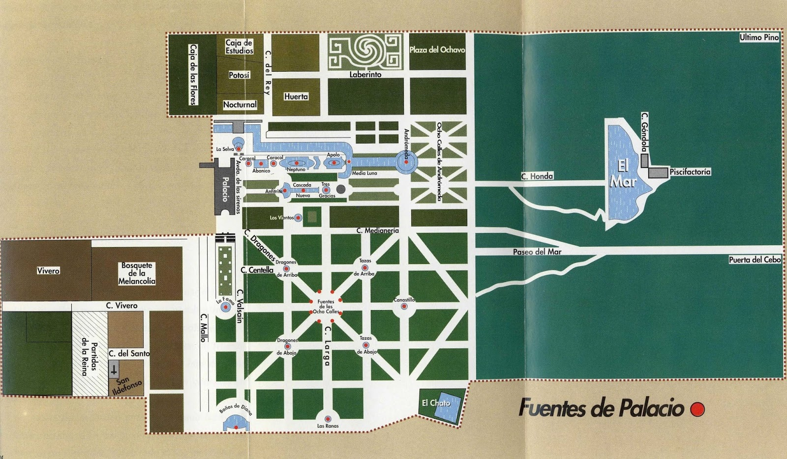 Fuente de los baños de Diana – Granja de San Ildefonso – Segovia ...