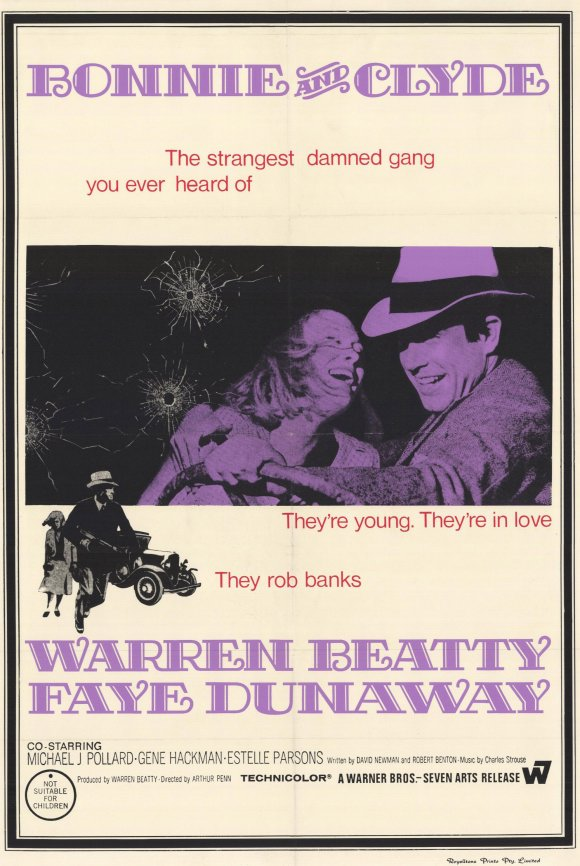 Bonnie And Clyde Movie Poster BUY THIS MOVIE