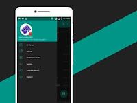 BBM Mod NAF-Chat Series v1.0.0 Dark Teal APK Download