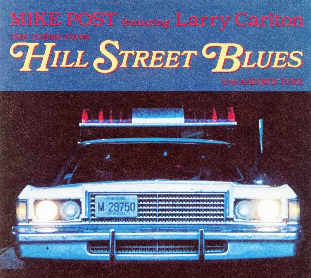 Imagen con la portada del disco con la banda sonora de la serie Canción triste de Hill Street