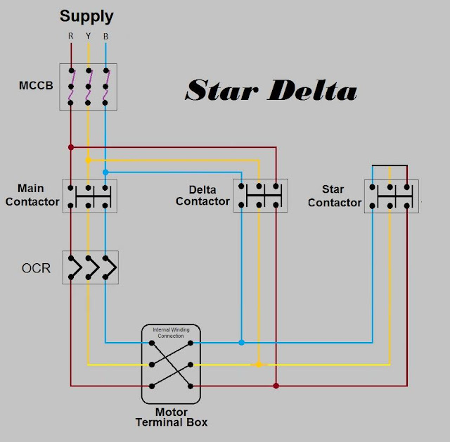 Electrical Engineering World Ac Motor Control Circuits Diagram