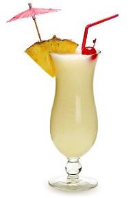 Gaivus kokosų kokteilis