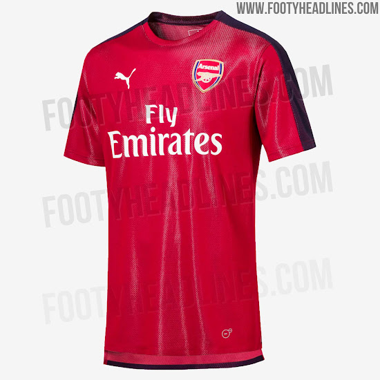 d3e1214e991 Puma Arsenal 18-19 Training Jerseys Leaked - Footy Headlines
