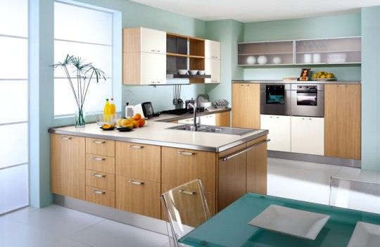 New home designs latest modern homes small modern for Small contemporary kitchen