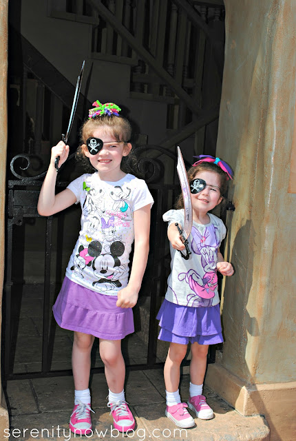 Magic Kingdom, Pirates of the Caribbean, Serenity Now blog