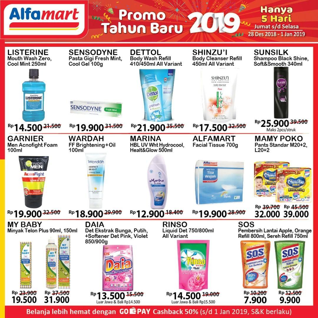 #Alfamart - Promo Katalog Tahun Baru 2019 Periode 28 - 01 Jan 2019