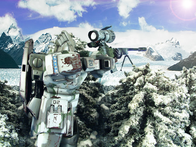 "The ""Gundam Sniper"" work."