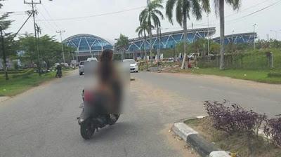 Video Tanpa Busana:Begini Sosok Wanita Tanpa Busana yang Nekat Masuk Bandara