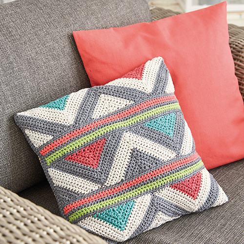Easy Crochet Pillow - Free Pattern
