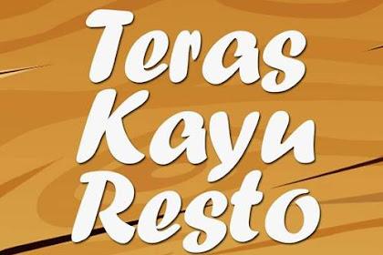 Lowongan Teras Kayu Resto Sudirman Pekanbaru Maret 2019