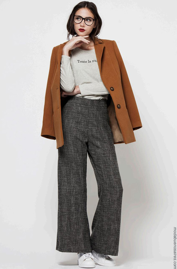 Moda invierno 2017 moda ropa de mujer. Moda 2017.