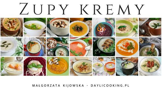 Zupy kremy - zestawienie najlepszych
