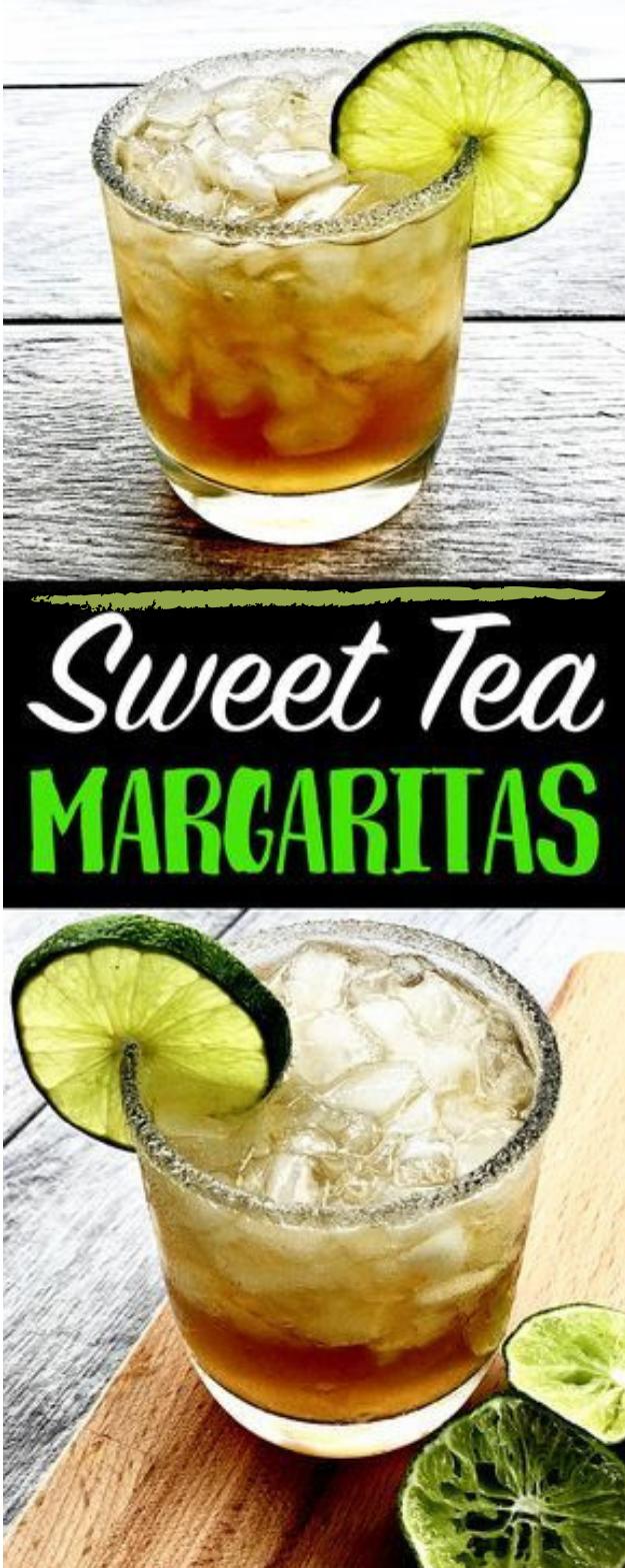 SWEET TEA MARGARITAS #tea #margaritas