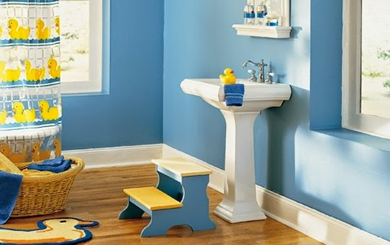 decoración baño infantil