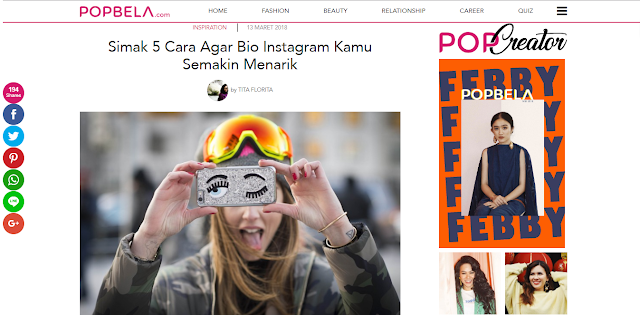 Up to date, Popbela, Perempuan, Beauty, Fashion, Healthy, Hiburan, IDN Indonesia, Popbela Website, Situs Popbela