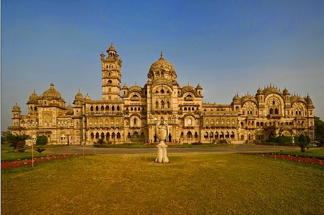 Laxmi Vilas Palace in Gujarat  IMAGES, GIF, ANIMATED GIF, WALLPAPER, STICKER FOR WHATSAPP & FACEBOOK