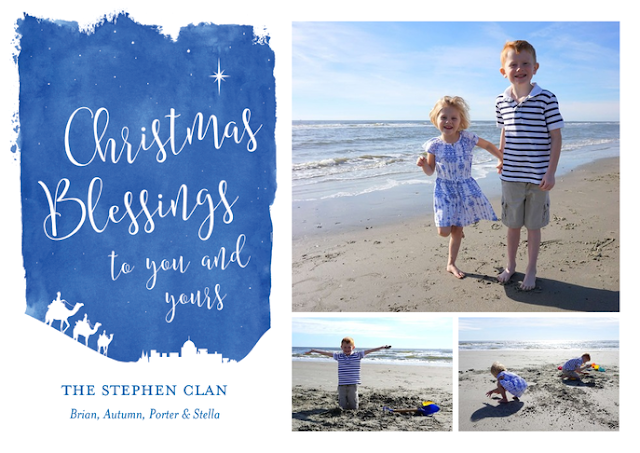 Front of Christmas Card