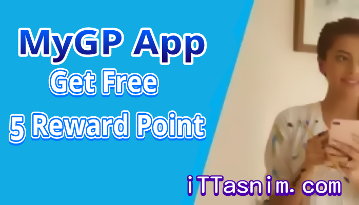 FREE 5 reward point at MyGp App | My Gp offer 2019