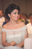 Shriya Saran in Stunning White Off Shoulder Gown at Nakshatram music launch ~  Exclusive (14).JPG