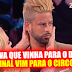 """Bruno Esteves aziou com a sua expulsão fabricada: """"pensava que vim para o Desafio Final mas afinal vim para o circo"""""""