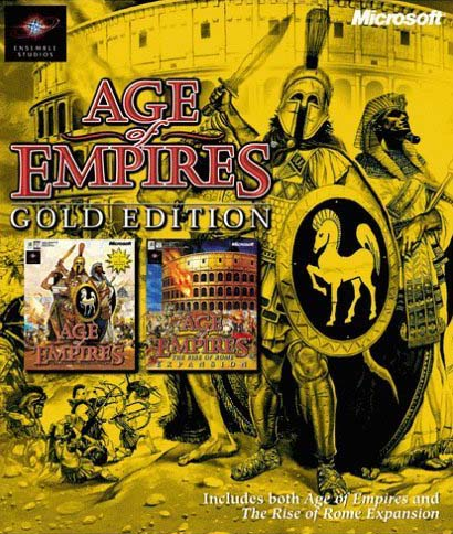 Age of Empires 1 Gold Edition - PC FULL - Portada