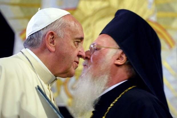 papa e patriarca do oriente