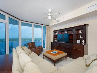 Bel Sole Condo For Sale Unit 1701 Living Room Gulf Shores AL Real Estate