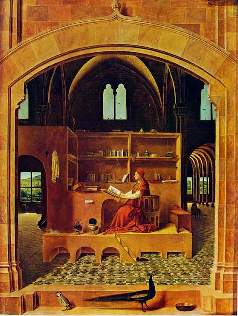 Antonello da Messina, San Girolamo nello studio