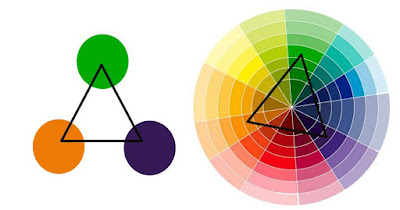 colores tríada