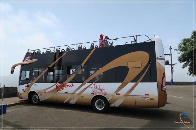 City tour com ônibus turismo em Lima