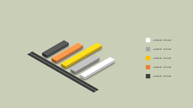 isometric elements for PowerPoint Slide 1
