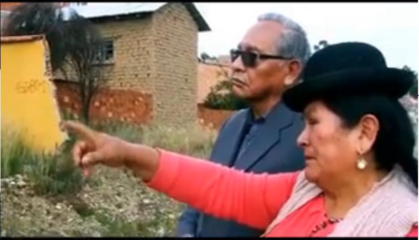 Cárdenas y Catari no pueden volver a su casa en Sank'a Jawira hace diez años / FACEBOOK