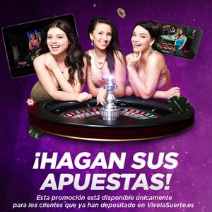 VivelaSuerte promocion 50 euros hasta 2 diciembre