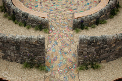 Stone Art Blog: Building a courtyard classroom
