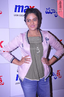 Sri Mukhi in Denim and Jacket at Max Summer Collection Launch  Exclusive 014.JPG