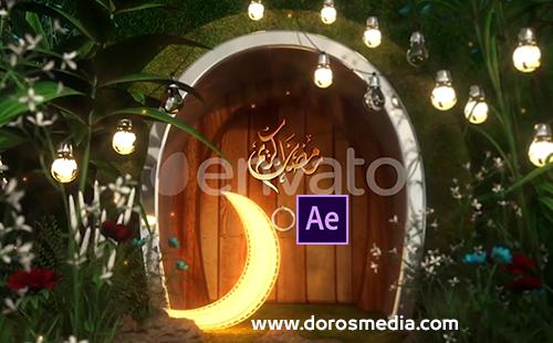 قوالب افترافكت قالب افترافكت انترو رمضاني مميز للافترافكت Ramadan Logo