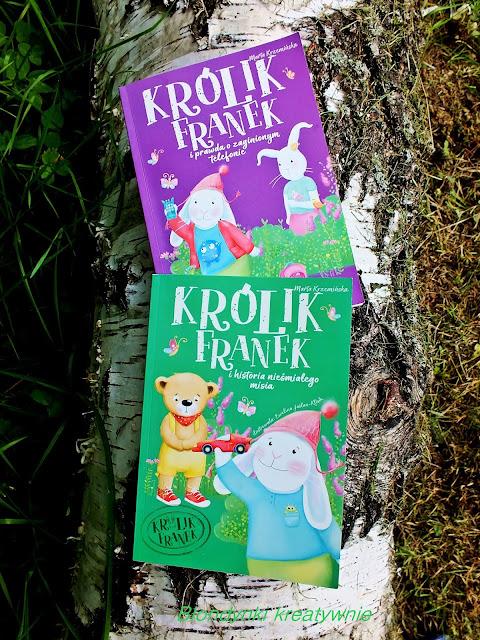 Królik Franek - wakacyjne czytanki