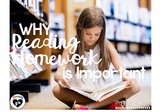Reading Homework... Why You SHOULD Do It!