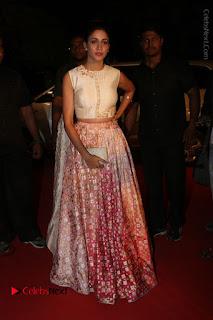 Actress Lavanya Tripati Stills in Beautiful Dress at Gemini TV Puraskaralu 2016 Event  0085.JPG