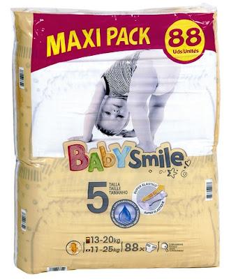 Pañales Babysmile Talla 5