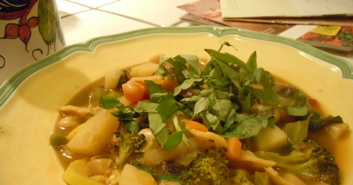 ... Footnotes: Tomato-free Minestrone (The Best Minestrone in the World