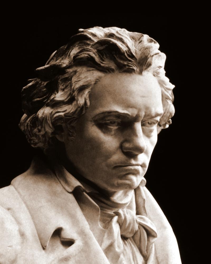 Beethoven bust - Hugo Hagen