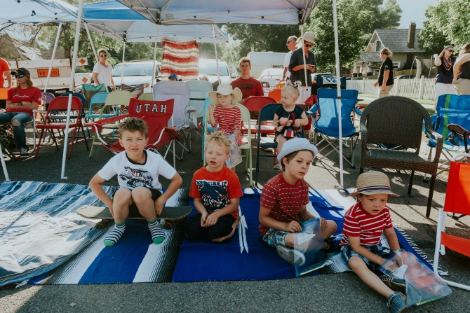 Our 4th of July Holiday: 2 Parades, 1 Annual Block Party, and lots of food by lifestyle blogger Michelle of Mumsy