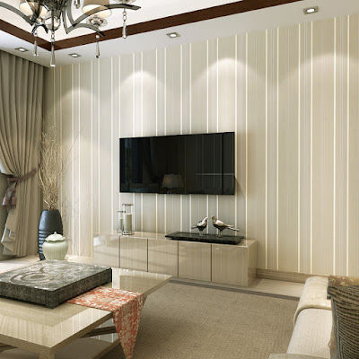 Berikut Contoh Wallpaper Untuk Ruang Tamu Sederhana