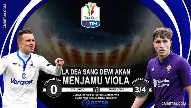 Prediksi Bola Atalanta VS Fiorentina