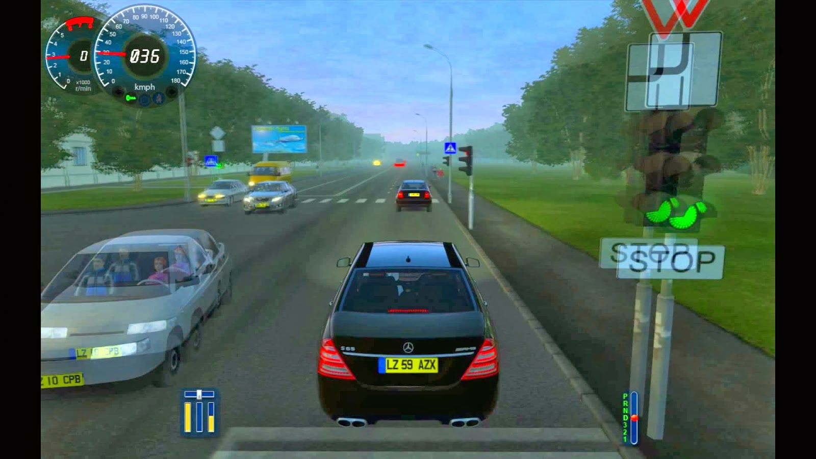 تحميل لعبة city car driving مع الكراك